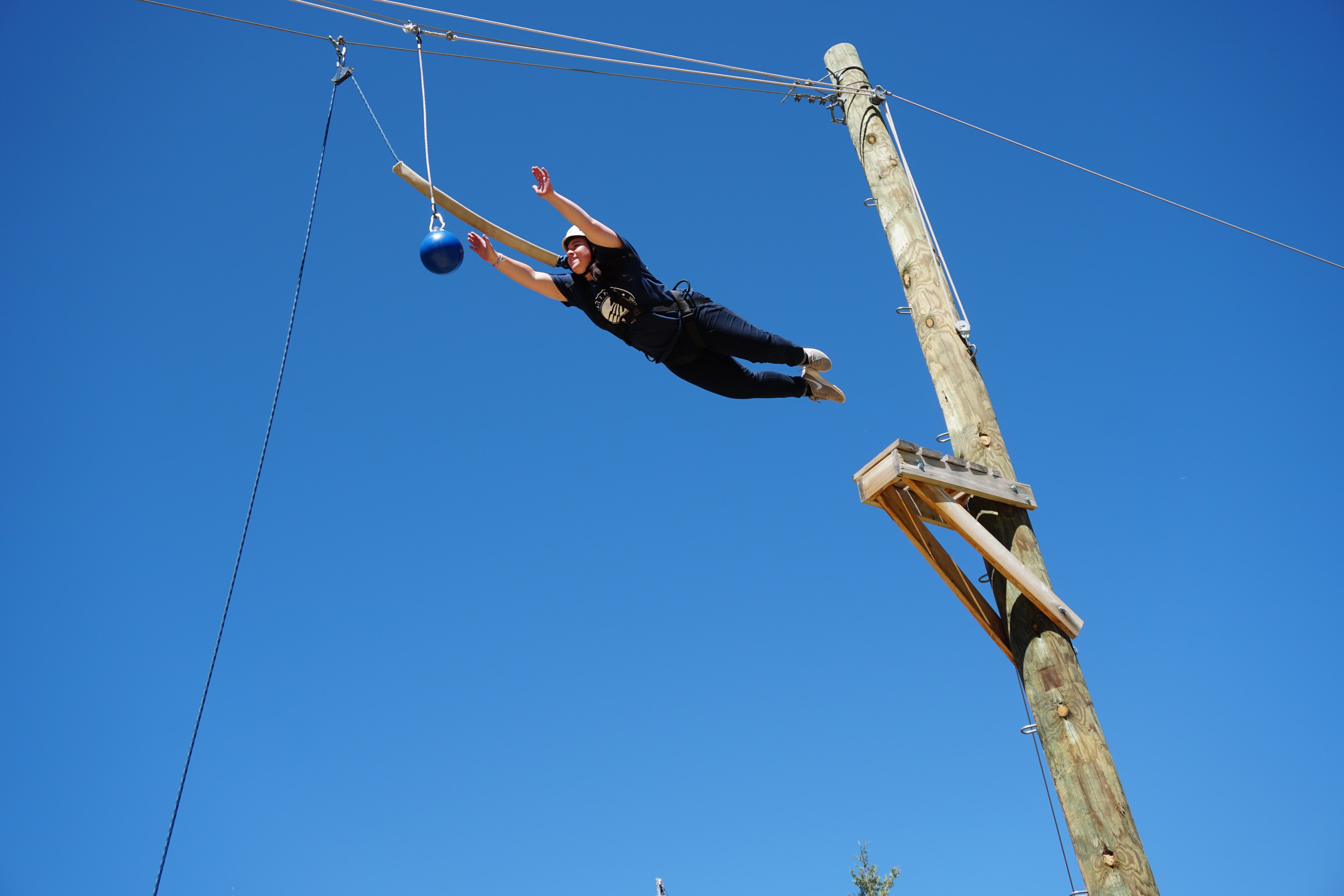 Michael F. Peterson Youth Leadership Challenge Ropes Course