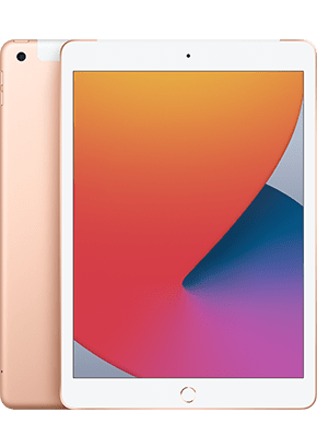 Logo-iPad Air Gold